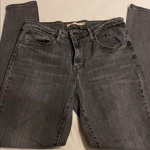 Washed out black/grey 721 Levi's - 28x30
